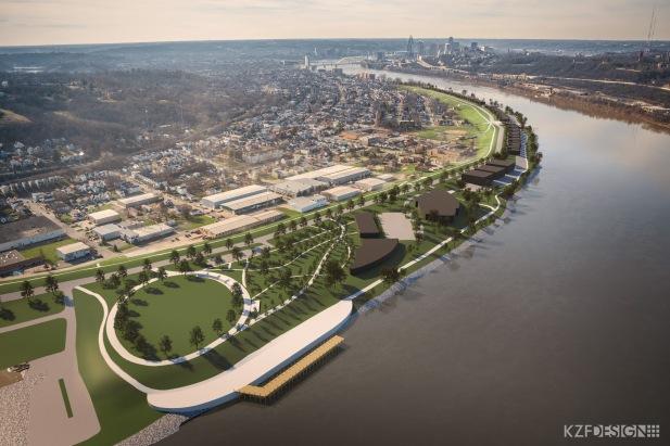 Dayton Pier & Trails Plan